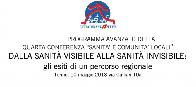 EVENTO – Torino, 10/05/2018