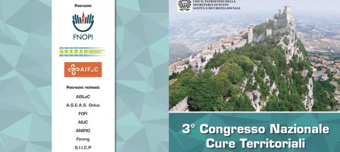 EVENTO ECM – San Marino, 25 e 26 ottobre 2019