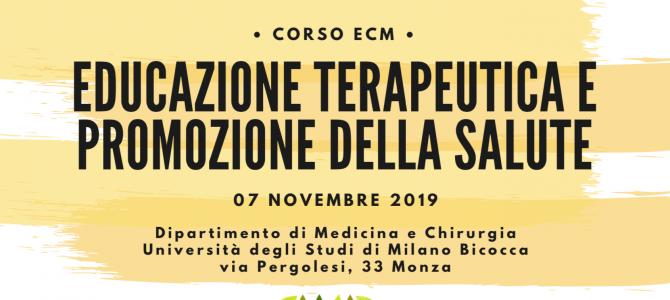 EVENTO ECM – Monza, 7 novembre 2019