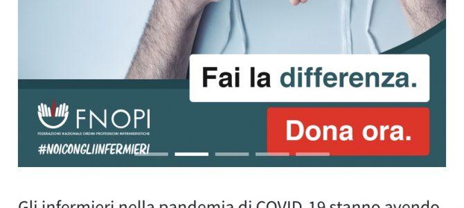 AIFeC sostiene la campagna di raccolta fondi della FNOPI #NoiConGliInfermieri